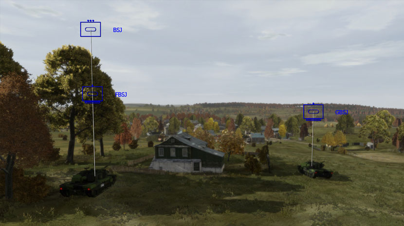 Chernarus terrain in VBS3 for Swedish Armed Forces training