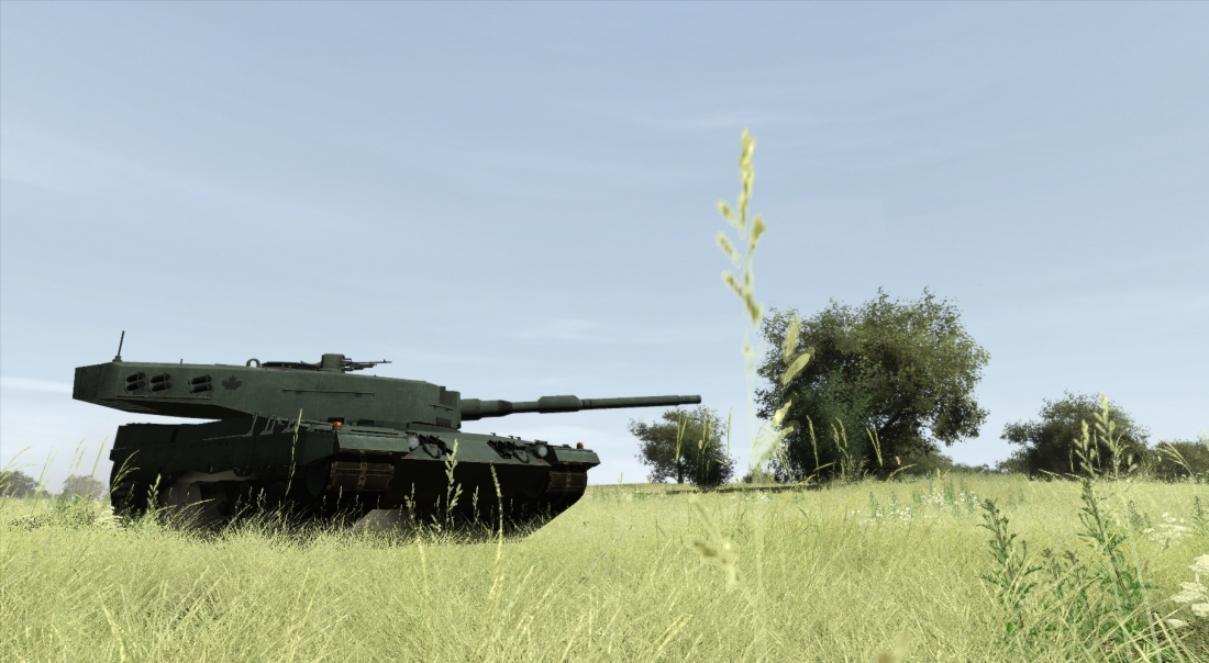 leopard tank simulation in VBS3