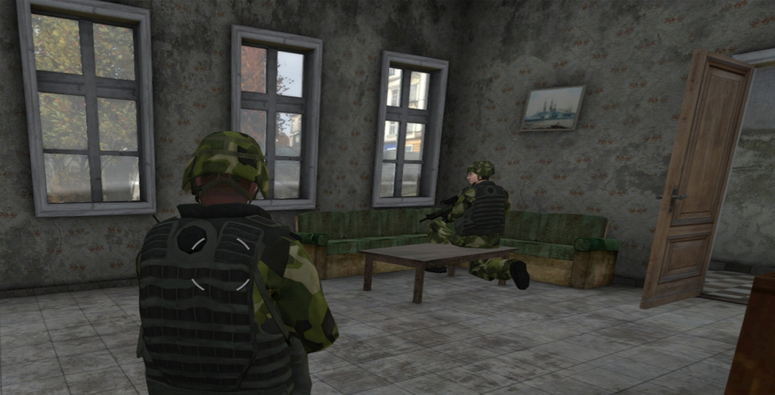 virtual urban warfare training
