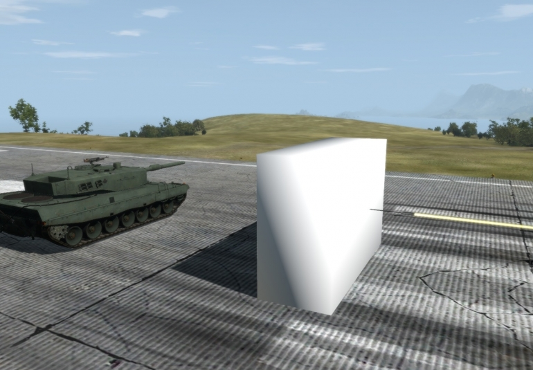 Active Protection System Interception in VBS3 tank experimentation Norway FFI