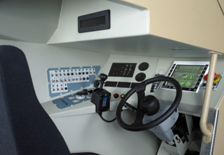 driver simulator, train driving simulator, driver simulator training