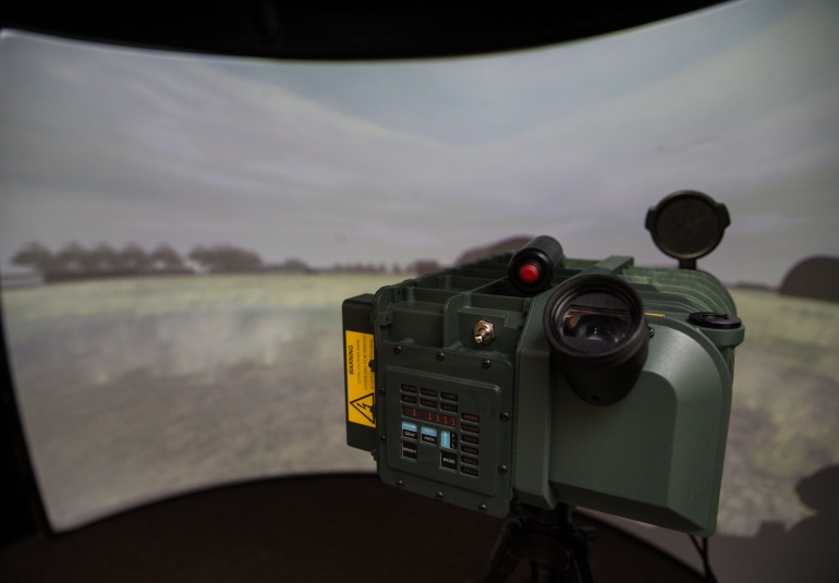 JTAC Joint Terminal Attack Controller Training Simulation 3D Virtual Laser Designator JTAC UK