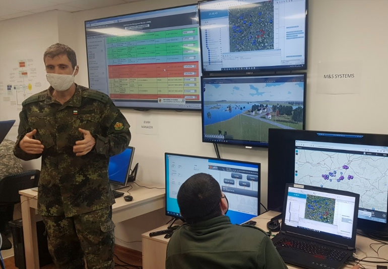 CMDR COE used VBS as part of its Crisis Management and Disaster Response Exercise Planners training course.