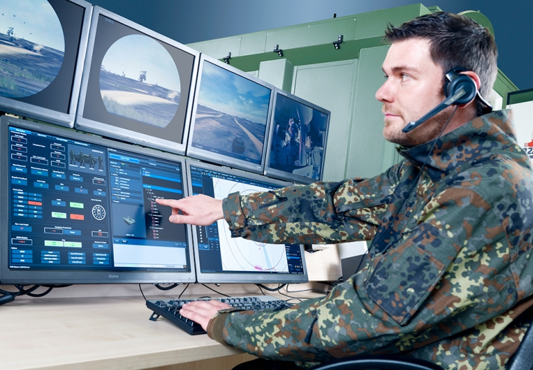 Sophisticated ORBAT editor for exercise creation up to battalion level