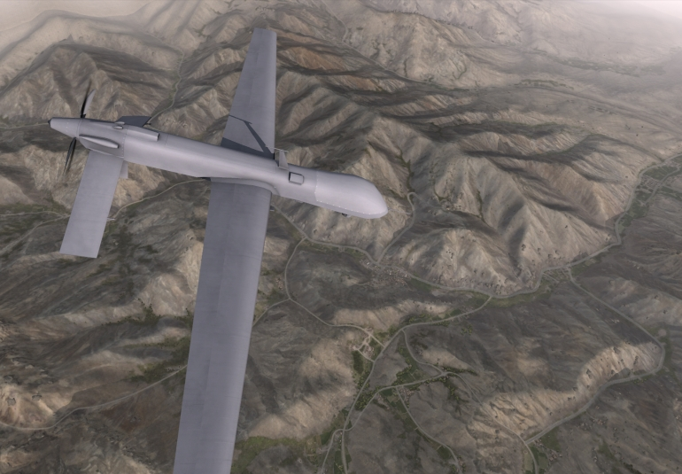 UAV remotely piloted aircraft virtual training and simulation VBS3 air operations training
